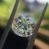 3.60ct Antique Cushion Cut S/T color, VS2 clarity 19