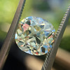 3.60ct Antique Cushion Cut S/T color, VS2 clarity 0