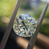 3.60ct Antique Cushion Cut S/T color, VS2 clarity 23