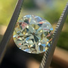 3.60ct Antique Cushion Cut S/T color, VS2 clarity 14