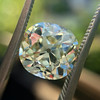 3.60ct Antique Cushion Cut S/T color, VS2 clarity 3