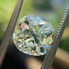 3.60ct Antique Cushion Cut S/T color, VS2 clarity 4