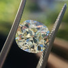 3.60ct Antique Cushion Cut S/T color, VS2 clarity 16