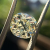 3.60ct Antique Cushion Cut S/T color, VS2 clarity 20