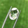 3.60ct Oval Rose Cut Diamond GIA I VS 7