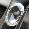 3.60ct Oval Rose Cut Diamond GIA I VS 5