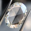 3.60ct Oval Rose Cut Diamond GIA I VS 21