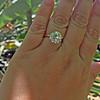 3.63ct Old European Cut Diamond, GIA J VVS1 5