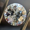 3.69ct Old European Cut Diamond GIA E VS2 12
