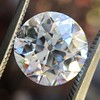 3.69ct Old European Cut Diamond GIA E VS2 2
