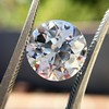 3.69ct Old European Cut Diamond GIA E VS2 20