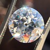 3.69ct Old European Cut Diamond GIA E VS2 4