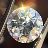 3.69ct Old European Cut Diamond GIA E VS2 0