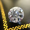 3.69ct Old European Cut Diamond GIA E VS2 3