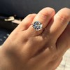 3.69ct Old European Cut Diamond GIA E VS2 31
