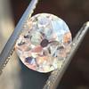 3.70ct Antique Cushion Cut Diamond GIA I VS1 8