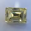 3.75ct Vintage Fancy Yellow Step Cut Diamond, GIA FY VS2 31