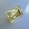 3.75ct Vintage Fancy Yellow Step Cut Diamond, GIA FY VS2 28