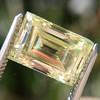 3.75ct Vintage Fancy Yellow Step Cut Diamond, GIA FY VS2 8
