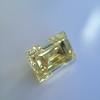 3.75ct Vintage Fancy Yellow Step Cut Diamond, GIA FY VS2 10