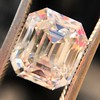 4.45ct Vintage Emerald Cut Diamond, GIA I SI2 7