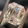 4.45ct Vintage Emerald Cut Diamond, GIA I SI2 8