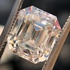 4.45ct Vintage Emerald Cut Diamond, GIA I SI2 5
