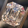 4.45ct Vintage Emerald Cut Diamond, GIA I SI2 3