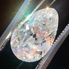 4.54ct Antique Pear Shape Diamond GIA J VS1 1