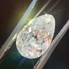 4.54ct Antique Pear Shape Diamond GIA J VS1 19