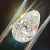 4.54ct Antique Pear Shape Diamond GIA J VS1 20