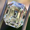 4.71ct Antique Asscher Cut Diamond GIA WX VS2 22