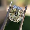 4.71ct Antique Asscher Cut Diamond GIA WX VS2 4