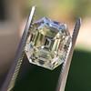4.71ct Antique Asscher Cut Diamond GIA WX VS2 6
