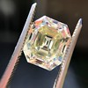 4.71ct Antique Asscher Cut Diamond GIA WX VS2 10
