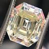 4.71ct Antique Asscher Cut Diamond GIA WX VS2 0