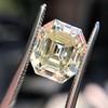 4.71ct Antique Asscher Cut Diamond GIA WX VS2 12