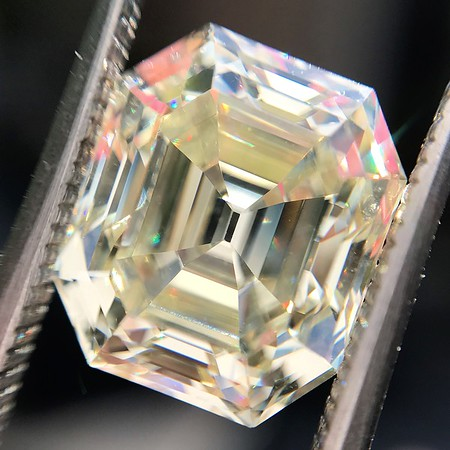 4.71ct Antique Asscher Cut Diamond GIA WX VS2
