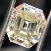 4.71ct Antique Asscher Cut Diamond GIA WX VS2 7