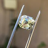 4.71ct Antique Asscher Cut Diamond GIA WX VS2 26
