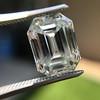 5.02ct Vintage Emerald Cut Diamond, GIA K VS2 12
