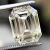 5.02ct Vintage Emerald Cut Diamond, GIA K VS2 16