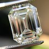 5.02ct Vintage Emerald Cut Diamond, GIA K VS2 18