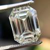 5.02ct Vintage Emerald Cut Diamond, GIA K VS2 17