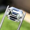 5.02ct Vintage Emerald Cut Diamond, GIA K VS2 13