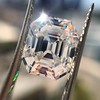 5.68ct Antique Emerald Cut Diamond, GIA K VS2 8