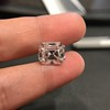 5.68ct Antique Emerald Cut Diamond, GIA K VS2 19