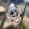 5.68ct Antique Emerald Cut Diamond, GIA K VS2 12