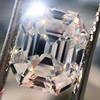5.68ct Antique Emerald Cut Diamond, GIA K VS2 4