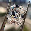 5.68ct Antique Emerald Cut Diamond, GIA K VS2 5